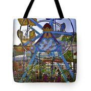 Merry Wheel Tote Bag