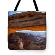 Mesa Arch Morning Glow Tote Bag