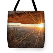 Mesa Arch Sunrise 4 - Canyonlands National Park - Moab Utah Tote Bag