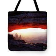 Mesa Arch Sunrise 4 Tote Bag
