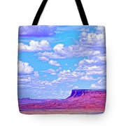 Mesa At Vermilion Cliffs Tote Bag