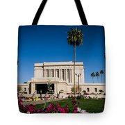 Mesa Temple Petunia Tote Bag