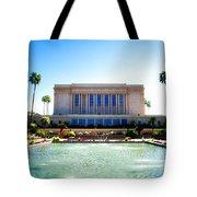 Mesa Temple Pool Tote Bag
