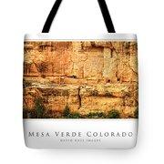 Mesa Verde Colorado Gallery Series Collection Tote Bag
