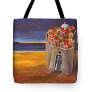 Mesi Castle Village Tote Bag