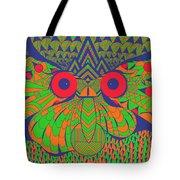 Mesmerizing Owl Tote Bag
