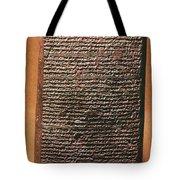 Mesopotamian Cuneiform Tote Bag