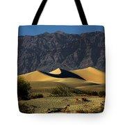 Mesquite Flat Dunes - Death Valley California Tote Bag