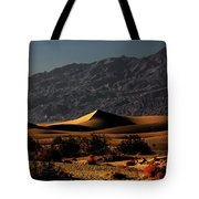 Mesquite Flat Sand Dunes Death Valley - Spectacularly Abstract Tote Bag