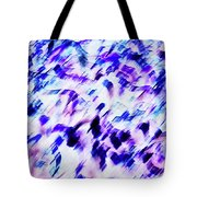 Mess In Blue Tones Tote Bag