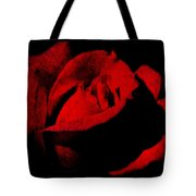 Seduction In Red Tote Bag