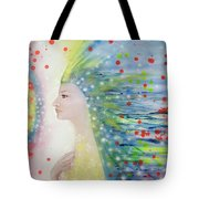 Messenger Of Hope  Tote Bag