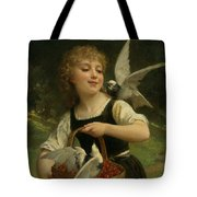 Messenger Of Love Tote Bag