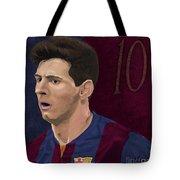 Messi-digital Oil Painting  Tote Bag