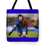Messi 1 Tote Bag
