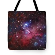 Messier 16, The Eagle Nebula In Serpens Tote Bag
