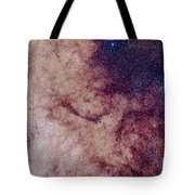 Messier 7 And Messier 6 Star Clusters Tote Bag