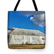 Metal Barn Tote Bag
