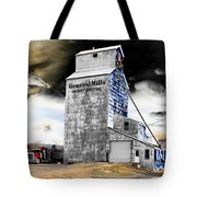 Metal Barn Tote Bag