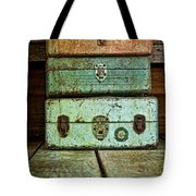Metal Boxes Tote Bag