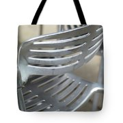 Metal Chair Tote Bag