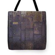 Metal Door Tote Bag