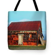 Metal House Tote Bag