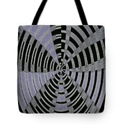 Metal Panel With Holes Abstract #3 Tote Bag
