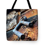 Metal Piece Tote Bag