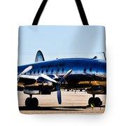 Metal Plane Tote Bag