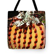 Metal Pumpkin Tote Bag