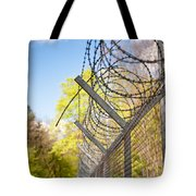 Metal Sharp Barbed Wire Tote Bag