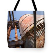 Metal Silos Tote Bag