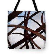 Metal Sky Tote Bag