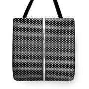 Metal Texture No.18 Bw Tote Bag