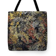Metallic Abstraction Tote Bag