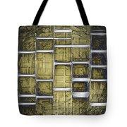 Metallic Amber Tote Bag