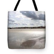 Metallic Beach Tote Bag