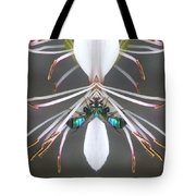 Metallic Bees On Gaura Tote Bag