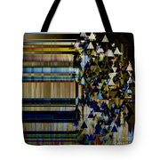 Metallic Drop Tote Bag