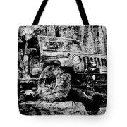 Metallic Jeep Jku Wrangler Tote Bag