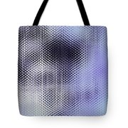 Metallic Weaving Pattern Tote Bag