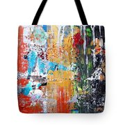 Metallic Winter Tote Bag