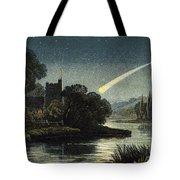 Meteor In Night Sky, 1868 Tote Bag