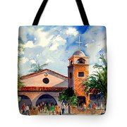 Methodist Church  Gilbert Az Tote Bag