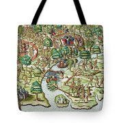 Methods Of Sieging And Attacking Tote Bag by Theodore de Bry