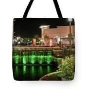 Metro Light Show Tote Bag