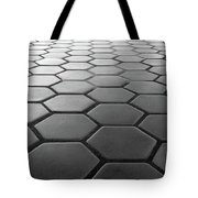 Metro Station In Black And White Tote Bag