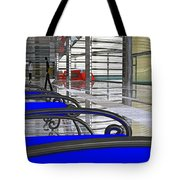 Metro West Station Tote Bag