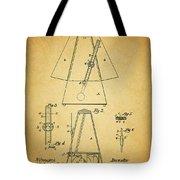 Metronome Patent Tote Bag